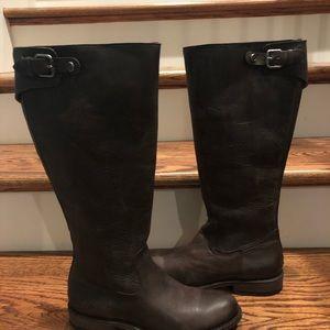 Frye Jayden slate leather sz 8 medium new